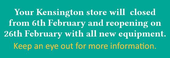 The Tanning Shop Kensington is Being Refurbished!