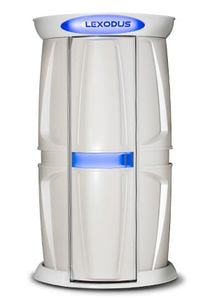 Lexodus tanning technology available from The Tanning Shop - The Tanning Shop