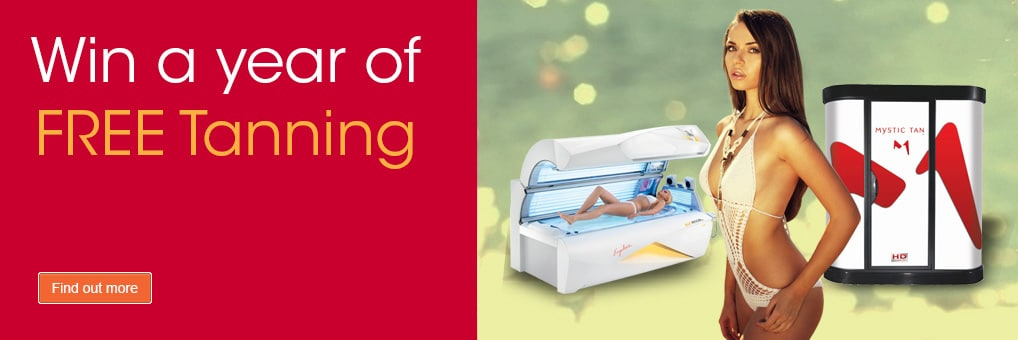 Win A Years FREE Tanning at The Tanning Shop