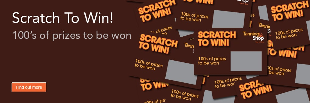You Could be a Winner at The Tanning Shop!