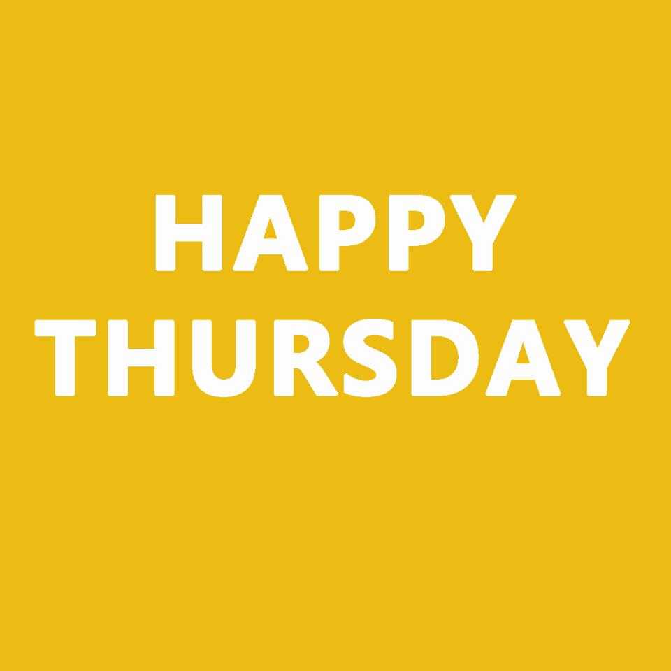 happy-thursday | The Tanning Shop