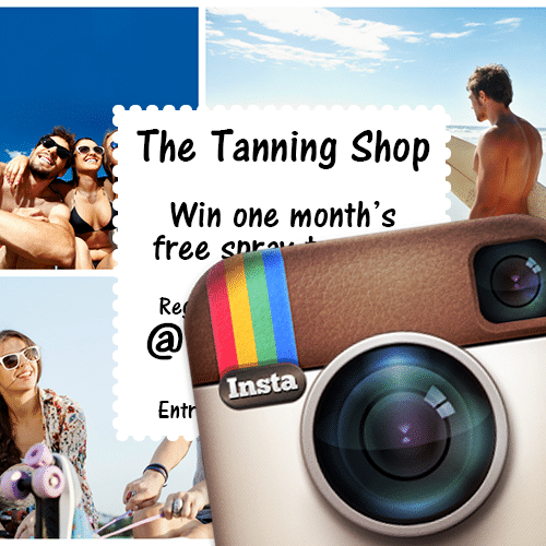 Win One Month's Free Spray Tanning with The Tanning Shop!