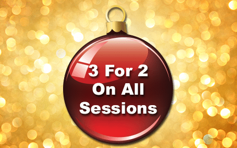 5th – 6th December3 for 2 on all Sessions