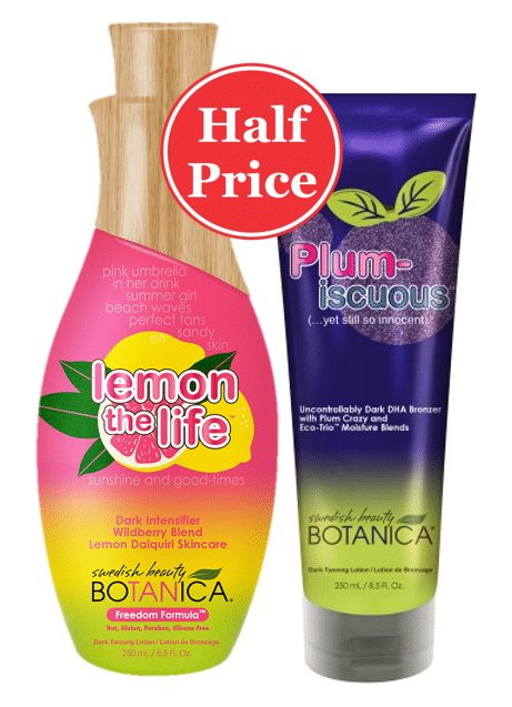 Special Offer: 50% Off Selected Lotions 16-23 January 2017 - The Tanning Shop