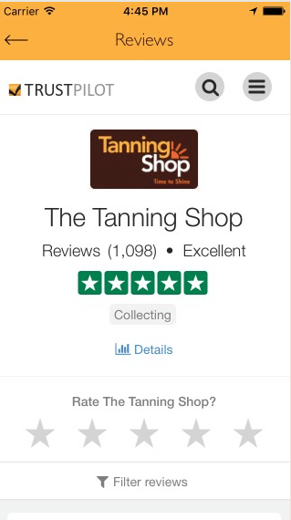 The Tanning Shop App has had an Update! - The Tanning Shop