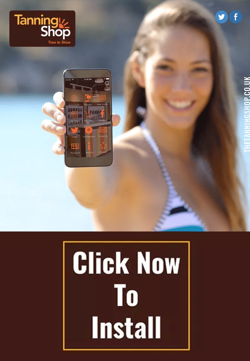Get Exclusive Offers and Deals with The Tanning Shop Mobile App - The Tanning Shop