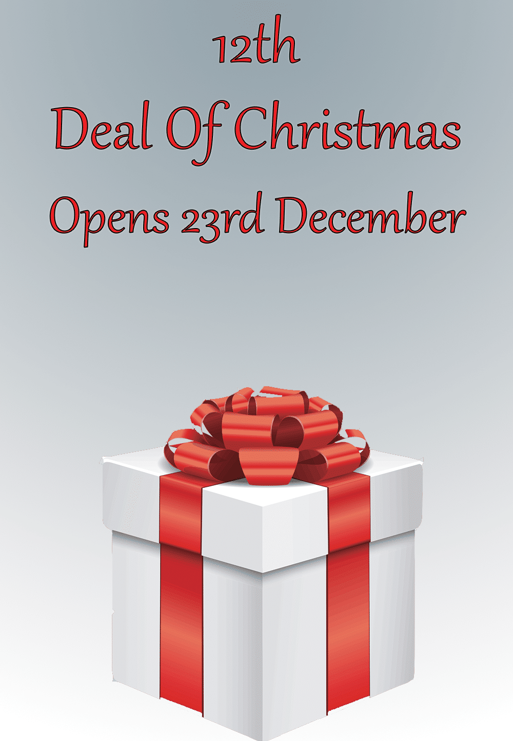 The Tanning Shop 12 Deals Of Christmas - The Tanning Shop