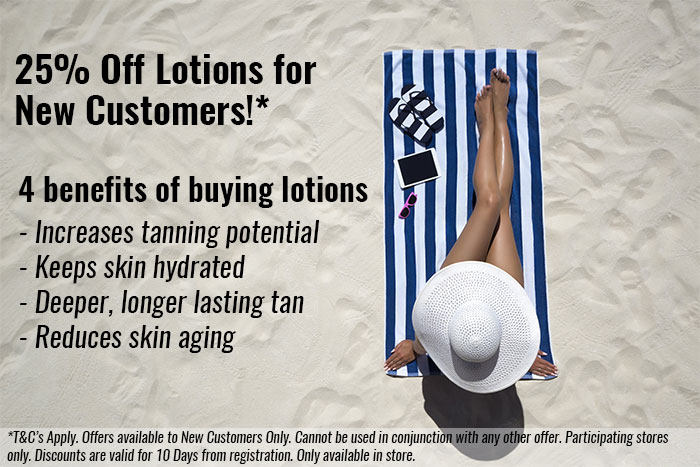 Why should you use a Sunbed Tanning Lotion Whilst Using a Sunbed? - The Tanning Shop