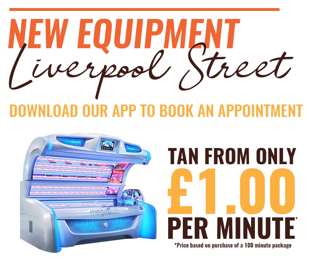 Brand New Beds Now In Liverpool Street Station - The Tanning Shop