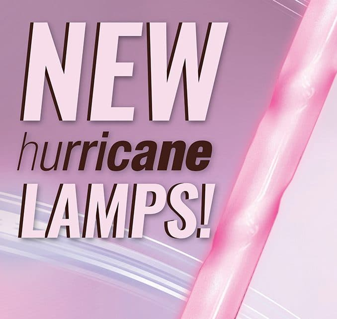 Introducing the KBL Hurricane Twist Lamps
