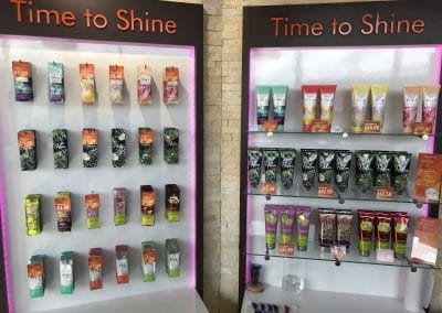 Bedford Lotion Display