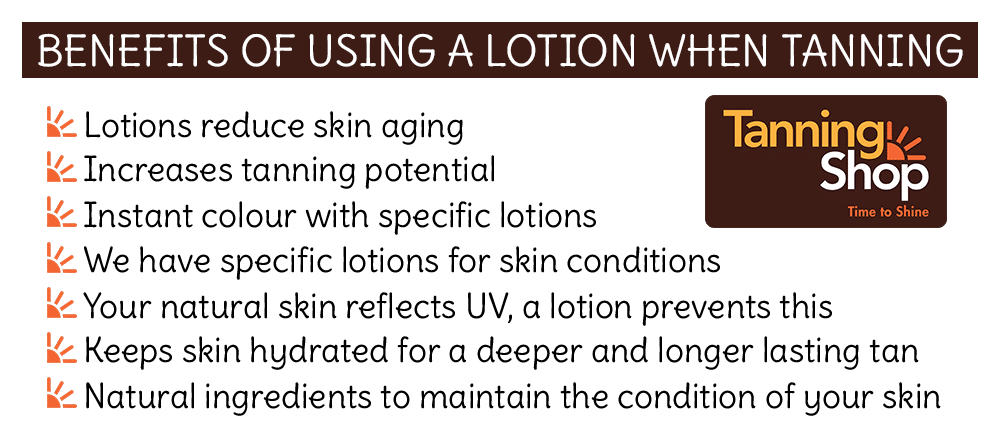 Benefits of lotions