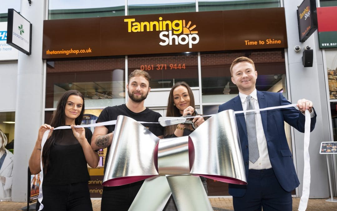 The Tanning Shop comes to Openshaw, Manchester!
