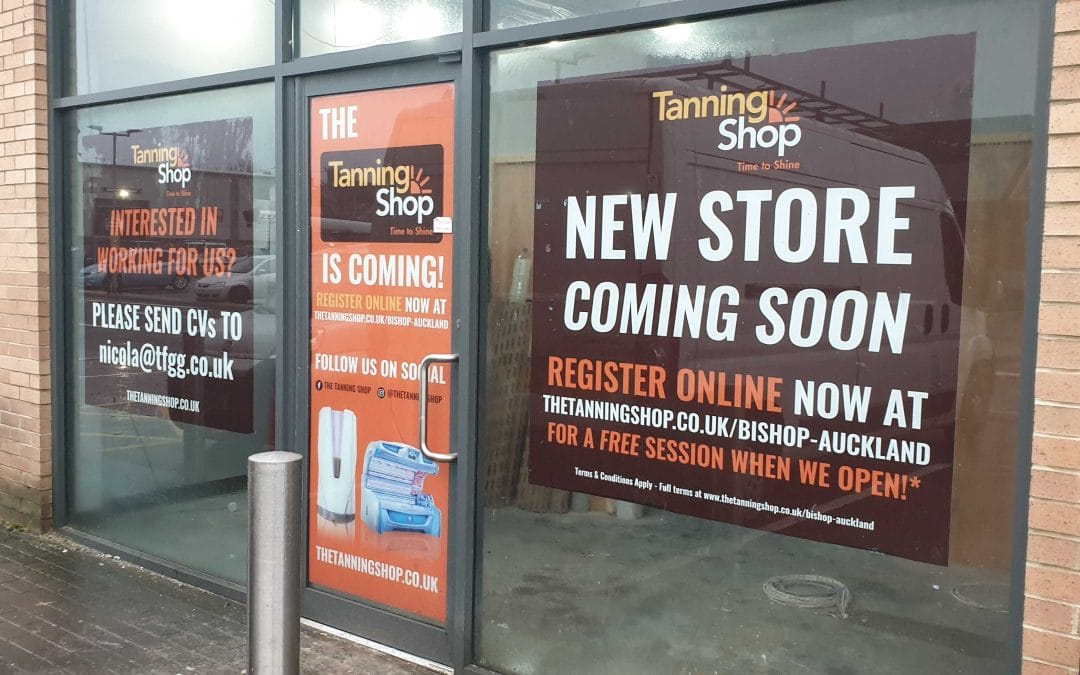 Tanning Shop Coming to Bishop Auckland