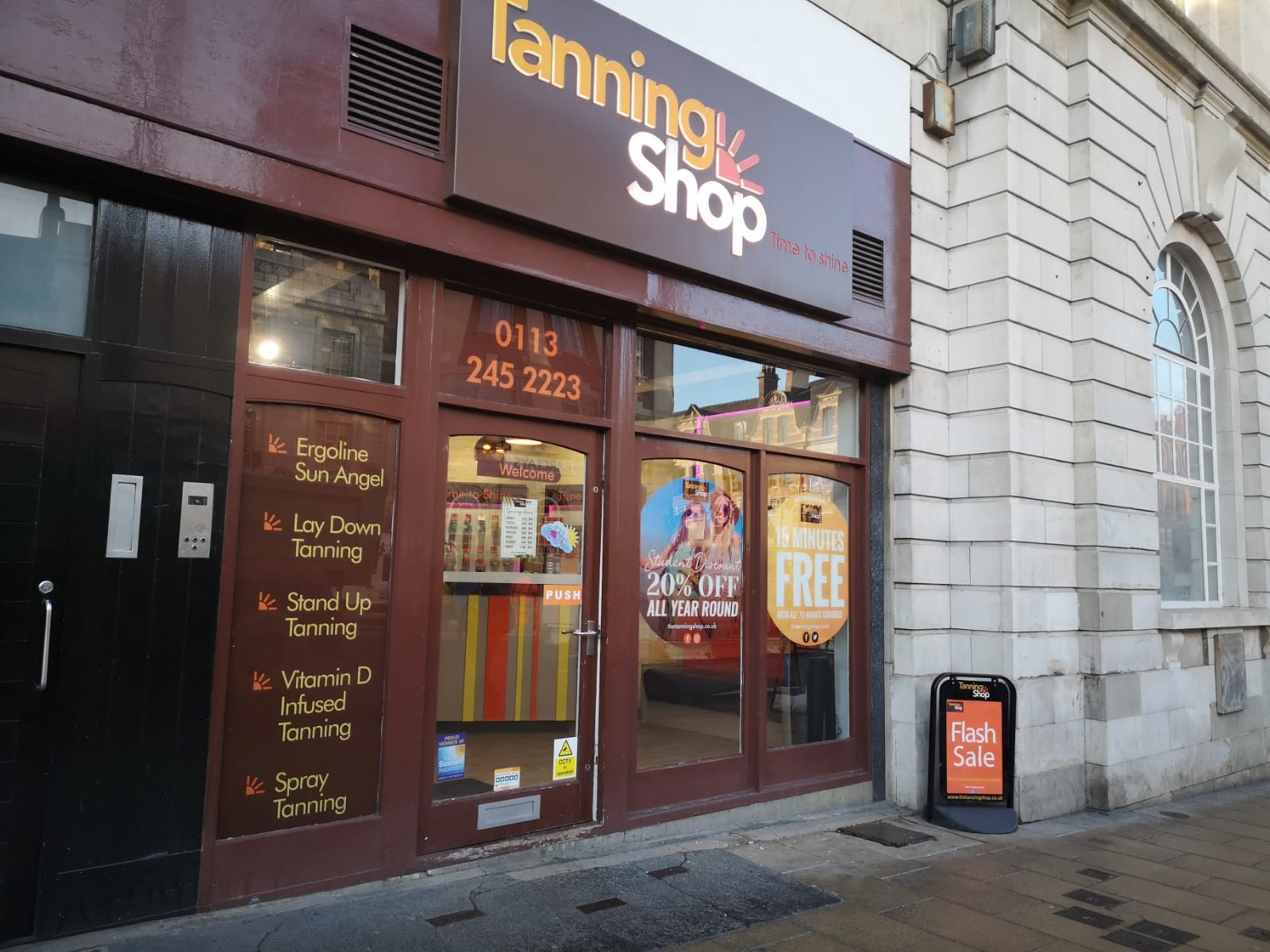 The Tanning Shop Leeds Central