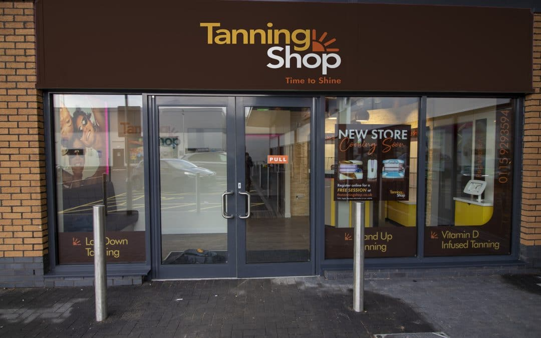 Tanning Shop Opening at Beechdale Retail Park