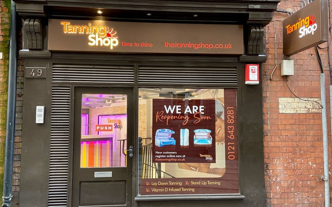 Birmingham Tanning Shop Reopens with Revamp