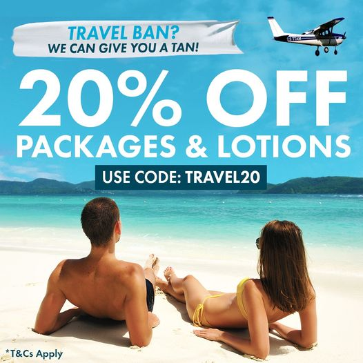 20% Off Packages & Lotions