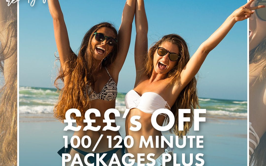 Pay Day £££'s Off 100/120 Minutes + 20% off Lotions 1 Day Only