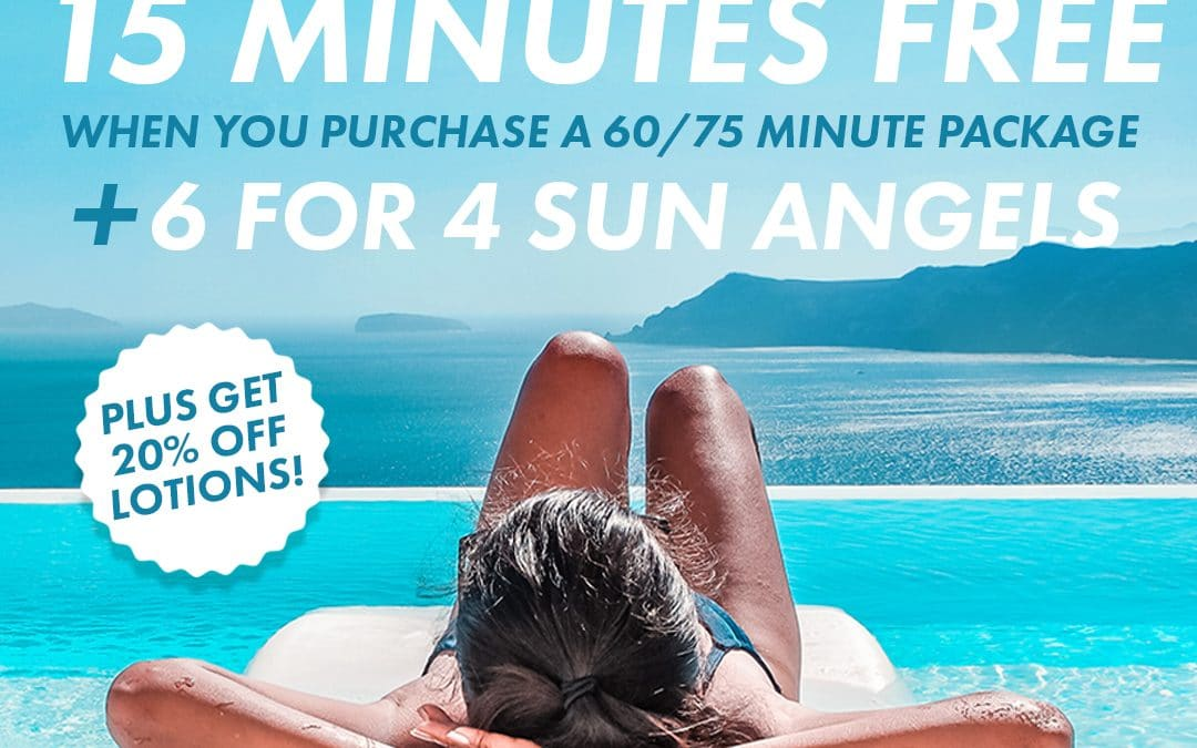 15 Minutes FREE & 6 for 4 Sun Angel